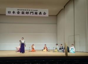 舞囃子『桜川』